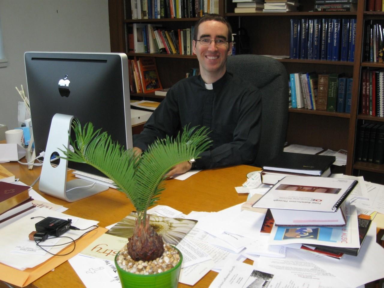 Pastor in Study